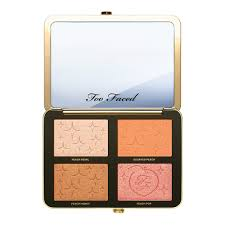 sugar peach face eye palette