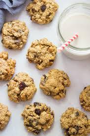 clic vegan oatmeal raisin cookies