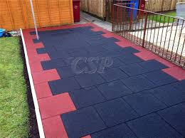 recycled plastic pavers rubber walkway