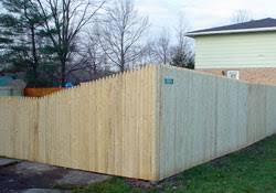 Residential Wood Fence Stockade Wood Fences In Western New York