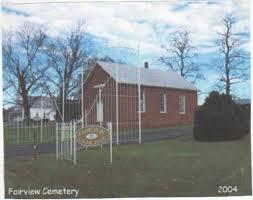 Marshall Family Burials