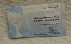 travel lite makeup remover wipes