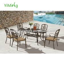 cast aluminum garden patio furniture