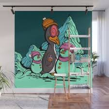 Chair Lift Wall Murals For Any Decor Style Society6