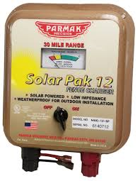 12 Volt Solar Charging Unit Only Parmakusa