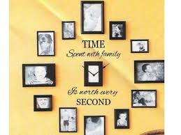 Time Spent With Family Wall Decal Quote Words Lettering Decor Sticker Design 24 For Sale Online