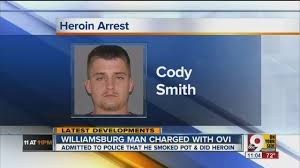 Cody James Smith: Police arrested man for OVI, possession while driving  with 7-year-old daughter in - YouTube