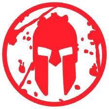Spartan Race Decal 5 Red Sprint Sticker Spartanrace Helmet Super Beast Trifecta Spartan Race Beast Spartan