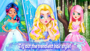 princess hair salon s games for