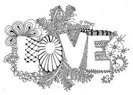 Anti Stress Kleurplaten Valentijnsdag Liefde 2