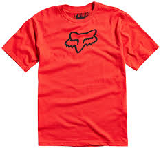 fox legacy kids shirt clothing red fox