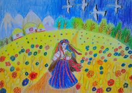 Україночка. Дитячі малюнки