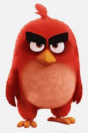 Red Angry Birds illustration, Angry Birds Movie Red Bird, games, angry birds  png