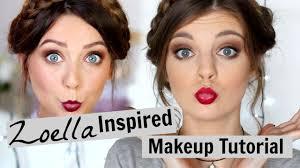 zoella valentines makeup tutorial