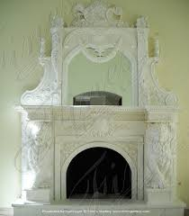 white marble lions mante mfp 1611
