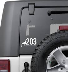 203 Vinyl Decal Stickers The Two Oh Three