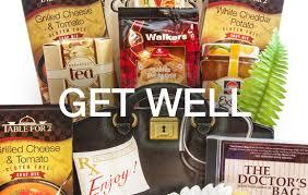 get well soon gift baskets gourmet