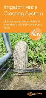 Irrigator Fence Crossing System Brochure Gallagher