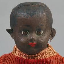 Ella Smith Black Alabama Baby Doll | Alabama baby, Vintage dolls, Folk doll