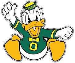 University Of Oregon Ducks 4 To 12 Full Color Vinyl Decal Sticker 12 X 10 3 Yeti Stickers Coloring Stickers Sports Decals