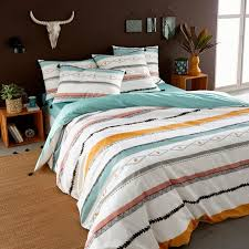 kinkale printed cotton duvet cover