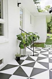 painted cement steps and top favorite
