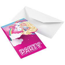 Invitaciones Barbie Dreamtopia 8 Por Solo 3 95 Envio 24h E
