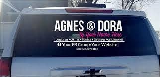 Agnes Dora Vinyl Decal Car Decal Business Logo Decal Etsy Car Decals Vinyl Vinyl Decals Car Decals