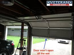 why won t my garage door opener open