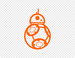 Bb 8 Car Anakin Skywalker Sticker Decal Car Text Label Orange Png Pngwing