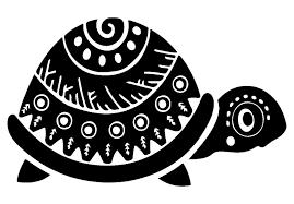 Giant Turtle Wall Decal Sea Removable Life Vinyl Art Pretty Otter Big Coral Vamosrayos