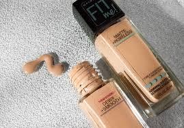 maybelline fit me foundation makeup