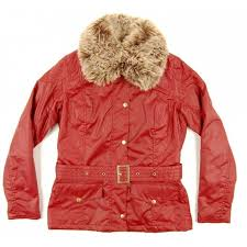 barbour las ryder jacket ruby red