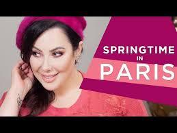 springtime in paris tutorial makeup