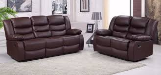 bonded leather brown leather sofa