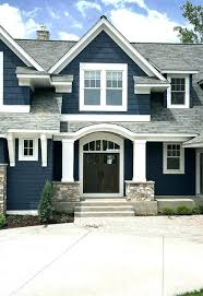 exterior color schemes for ranch style