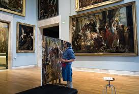 paris france louvre art gallery 7209