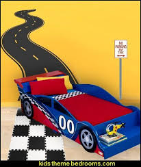 Road Track Wall Decal Car Theme Beds Car Themed Bedrooms Kids Car Bed Cars Room