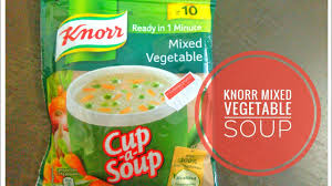 knorr soup mixed vegetable soup