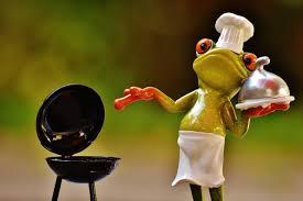 صور لـ شواء طبخ مضحك الشكل ضفدع الشواء