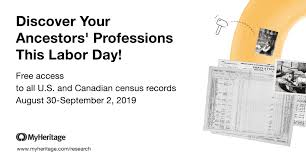 740 Million Free Census Records for Labor Day - MyHeritage Blog