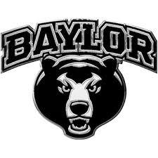 Baylor University Car Decals Decal Sets Baylor Bears Car Decal Lids Com