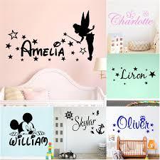 Custom Name Stencil Monogram Custom Name Sign Girls Personalized Name Bird Wall Sticker Custom Name Bird
