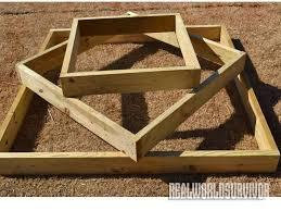 three tiered raised garden box