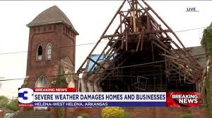 Helena-West Helena hit hard by winds, damaging historic church | News Break