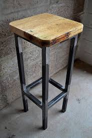 industrial bar kitchen stool with