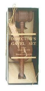 gavel set in gift box boss gift awards