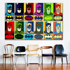 Selflessly Pop Art Superhero Cartoon Canvas Painting For Living Room Kids Room Wall Art Canvas Prints Posters Unframed Painting Calligraphy Aliexpress