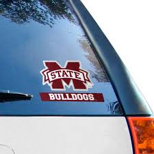 Mississippi State Bulldogs Wincraft 4 X 5 Perfect Cut Decal