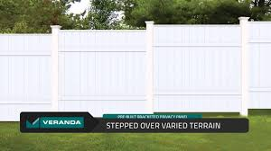Pre Built Bracketed Privacy Vinyl Panels By Veranda Built By Barrette Youtube